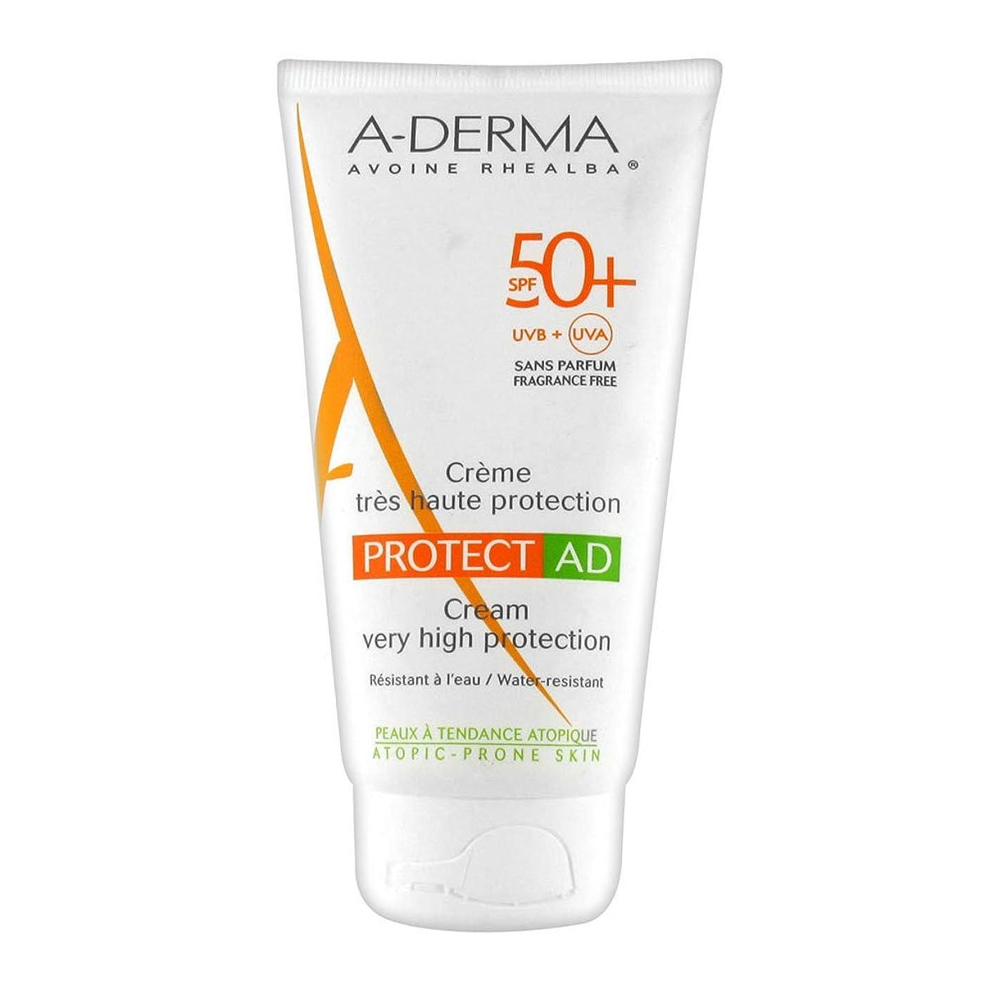 民兵上記の頭と肩後ろにA-derma Protect Ad Cream Spf50+ 150ml [並行輸入品]