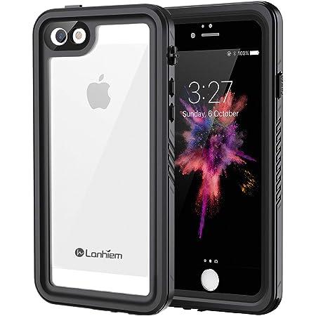 Lanhiem Coque iPhone Se / 5S / 5 Étanche, [Antichoc] [IP68 Imperméable] 360 Full Body Incassable Renforcee Antipoussière Anti-Neige Indestructible ...