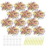 JUSTDOLIFE 12 Juegos para niños Rainbow Loom Kit Divertido Conjunto de Recarga...
