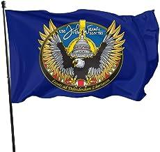anemone store Banderas de la Bandera de EE. UU. para Exteriores de USS John Warner SSN 785