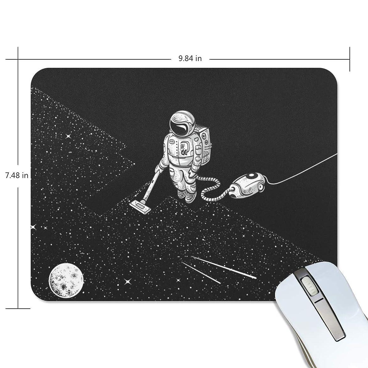 持ってるマーキング裂け目宇宙飛行士 ギャラクシーマウスパッド ゲーミングマウス ゲームパッド ゲームプレイマット ワイヤレスマウスパッド オフィス最適 高級感 おしゃれ 流行 防水 耐久性が良い 滑り止めゴム底 滑りやすい表面 マウスの精密度を上がる