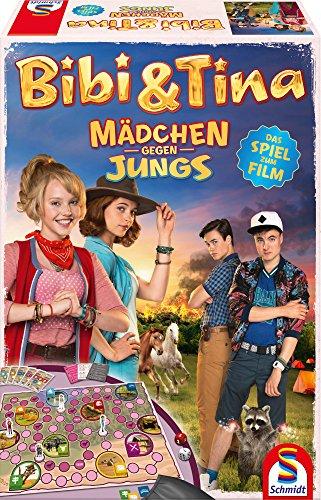 Schmidt Spiele 40574 - Bibi und Tina, Mädchen gegen Jungs, Das Spiel zum Film 3