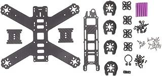 Homyl Marco Frame Kit para Drone Quadcopter DIY Partes (QAV210 / QAV180 para Selección) - QAV210 210mm 165x195x3mm