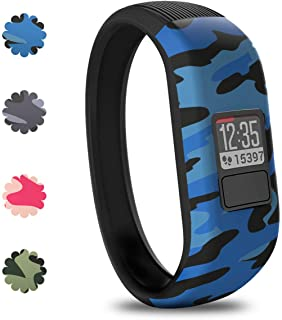 Vozehui Silicone Bands Compatible with Garmin Vivofit 3/Vivofit JR/Vivofit JR 2, Soft Silicone Replacement Sport Wristband...