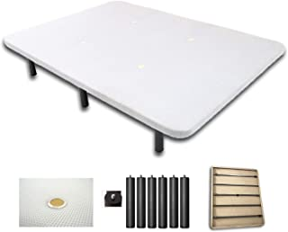 Duermete Base Tapizada 3D Reforzada 5 Barras de Refuerzo y Válvulas de Ventilación + 6 Patas