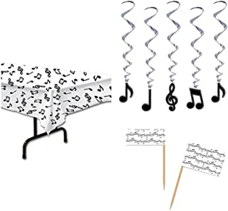 MUSIC NOTE Musical Theme PARTY Decorations - TABLECLOTH (54