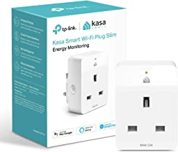 Kasa Mini Smart Plug by TP-Link, WiFi Outlet with Energy Monitoring, Compatible with Alexa(Echo and Echo Dot), Google Home...