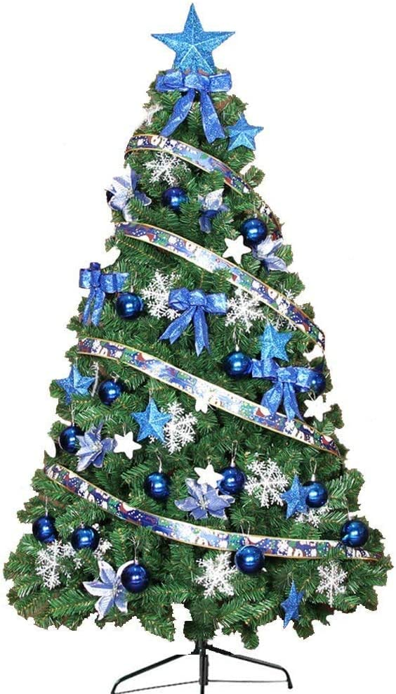 OFFicial store Jin-Siu Artificial Christmas Tree Easy Metal Folding Assembly St Cheap SALE Start