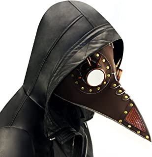 steampunk plague doctor mask for sale