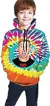 Min.Gui Boys and Girls Cool Chad Wild Clay 3D Printed Hoodie Sweatshirts