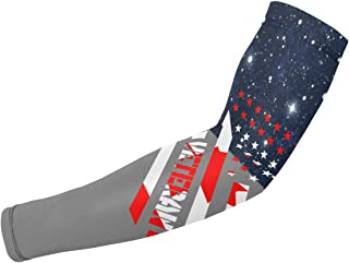 ARMYE269 Veteran Canada Flag Men Women Ice Silk Arm Sleeves