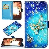 Robinsoni Custodia Compatibile con Huawei Mate 20 Pro Case Portafoglio Cover Libro Case Pe...