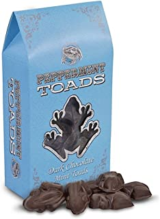 Universal Studios Wizarding World of Harry Potter Park Honeydukes Emporium Dark Chocolate Peppermint Toads Candy 4 Oz