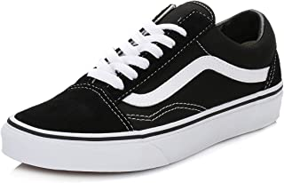 Old Skool Shoes 7.5 B(M) US Women / 6 D(M) US Black White