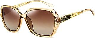 Women Shades Classic Oversized Polarized Sunglasses 100% UV Protection Eyewear