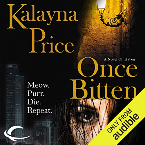 Once Bitten audiobook cover art