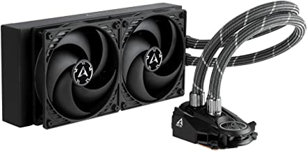 ARCTIC Liquid Freezer II - Multi Compatible All-in-One CPU AIO Water Cooler, Compatible with Intel & AMD, Efficient PWM Co...