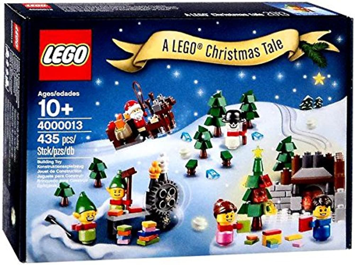 Lego 4000013 - A Christmas Tale - Rare 2013 Employee Gift