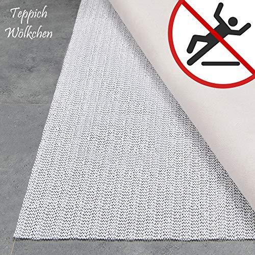 Teppich Wölkchen Teppich-Unterlage Anti-Rutsch-Matte II 17 Größen II rutschfest in Schublade Auto...