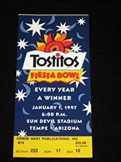 1997 FIESTA BOWL Ticket Stub - TEXAS PENN STATE