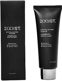 2XIST Mens Face Scrub - Exfoliating Facial Scrub Cleanser For Men - Organic Natural Charcoal Blackhead Scrub - Rejuvenatin...