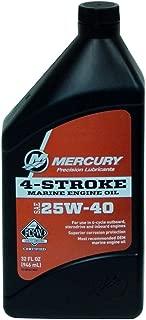MERCURY Genuine 1 Quart 25W40-8M0078627