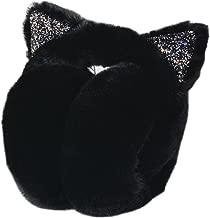 MIUNIKO Girls Holiday Winter Outdoor Sports Cute Cartoon Cat Ear Warmers Headband Earmuffs