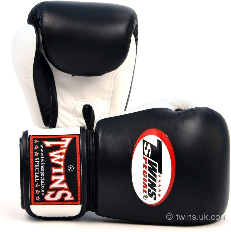 Twins special 2-Tone Black-White Boxing Gloves