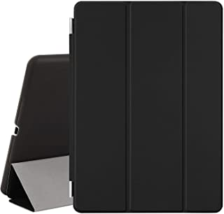 Magnetic Smart Cover Stand + Hard Back Case For Apple iPad Air + Stylus - Protects the Device - Black