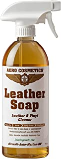 Leather Cleaner Leather Soap Aircraft Quality for Your Car RV and Furniture 16oz Better Than Automotive Products Meets Boeing Aircraft Specifications