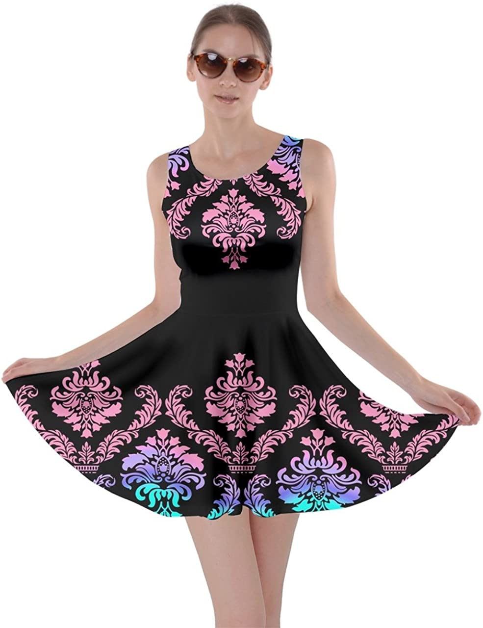 CowCow Womens Oriental Long-awaited Excellence Damask Arabesque Pri Aztec African Floral