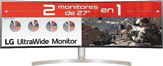 """LG 49WL95C-W - Monitor Profesional de 49"""" DualQHD (5120x1440, IPS, 32:9, DisplayPort x1, HDMI x2, USB x4, Ultrawide, 60 H..."""