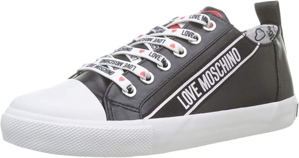Love moschino sneakers donna in nappa JA15013G07JB