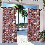 Native American Decor - Cortinas impermeables para interiores y...
