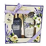 Gloss! Box Bad Duo Les Belles Fleurs Lavendel (300 ml Duschgel, 200 ml Body Lotion), 1er Pack (1 x 2...