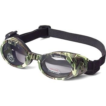 Doggles - ILS Green Camo Frame with Light Smoke Lens