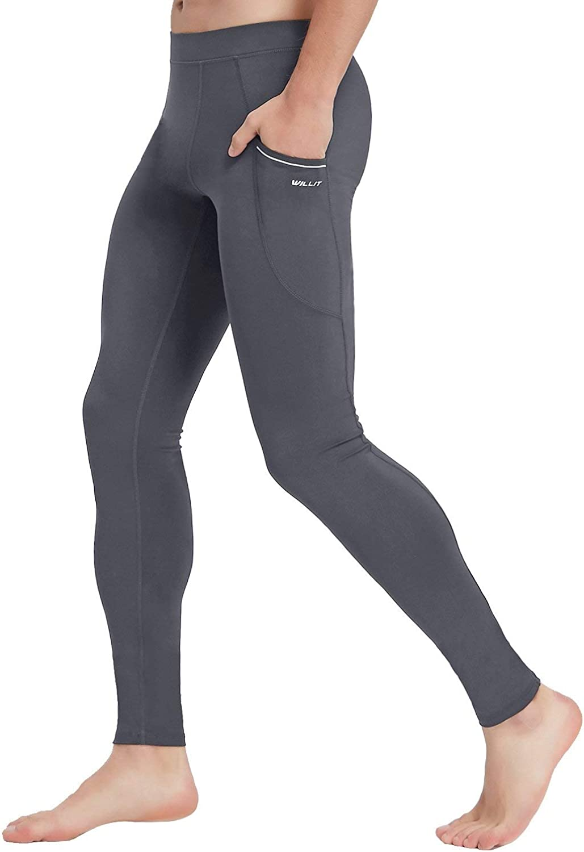 Willit Men's Japan's largest assortment Active Yoga Leggings Jacksonville Mall Tights Dance wit Pants Running