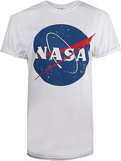 Nasa Circle Logo T-Shirt Donna