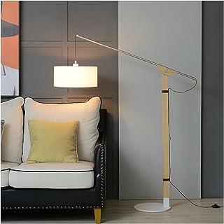 -Lampe de solon Lampadaire, interrupteur à pied simple et créatif Convient au salon chambre à coucher Sofa Sofa Lampe vert...