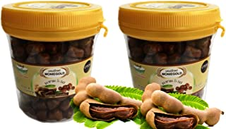 Moniegold Chewy Tamarind Candy 130 G.Pack of 2 made from fresh sweet & sour tamarind which is chewy and delicious by Thai Tasty.