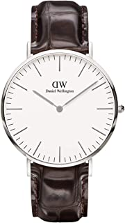 Daniel Wellington Men Classic York, Silver 40 mm - DW00100025