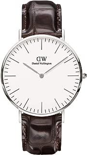 Daniel Wellington Men Classic York, Silver 40 mm - DW00100025