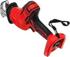 Inalámbrico sierra alternativa de velocidad variable Herramienta eléctrica portátil 18V carpintería metálica portátil de plástico Herramientas de mano eléctricas