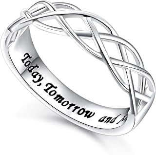 today tomorrow forever ring