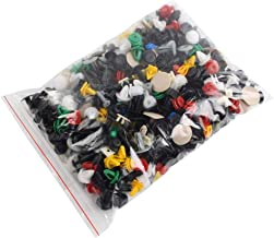 Holmeey Bevestigingsclips, 100 stuks, universeel gemengde autostickers, spreidklinknagels, bumper, deurbekleding, Fender L...