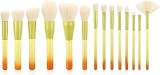 Yansyuionghzs Blush Brush, 14pcs Makeup Brush Set Makeup Brushes Set Make Up Powder Brush Beauty Kit