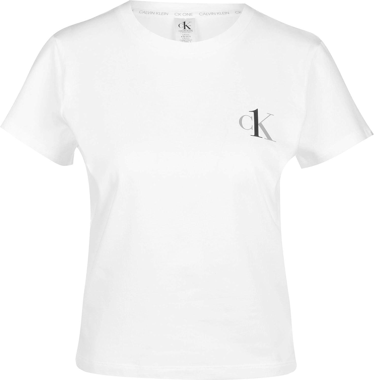 Calvin Klein Underwear S/S Crew Neck W Camiseta: Amazon.es ...