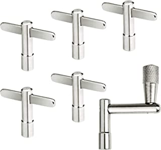 6PCS Drum Key with Continuous Motion Speed Key & Standard Tuning Key