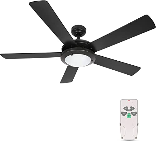 high quality Hykolity 52 Inch Modern Style Indoor online Ceiling Fan with Dimmable Light Kit and Remote Control, Reversible Motor, ETL for Living room, Bedroom, online sale Basement, Kitchen, Garage outlet online sale