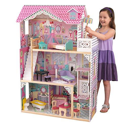 KidKraft 65934 Puppenhaus Annabelle, Mehrfarbig
